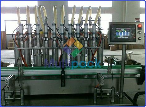 Engine Oil Filling Machine Oil Filler Machine With Servo