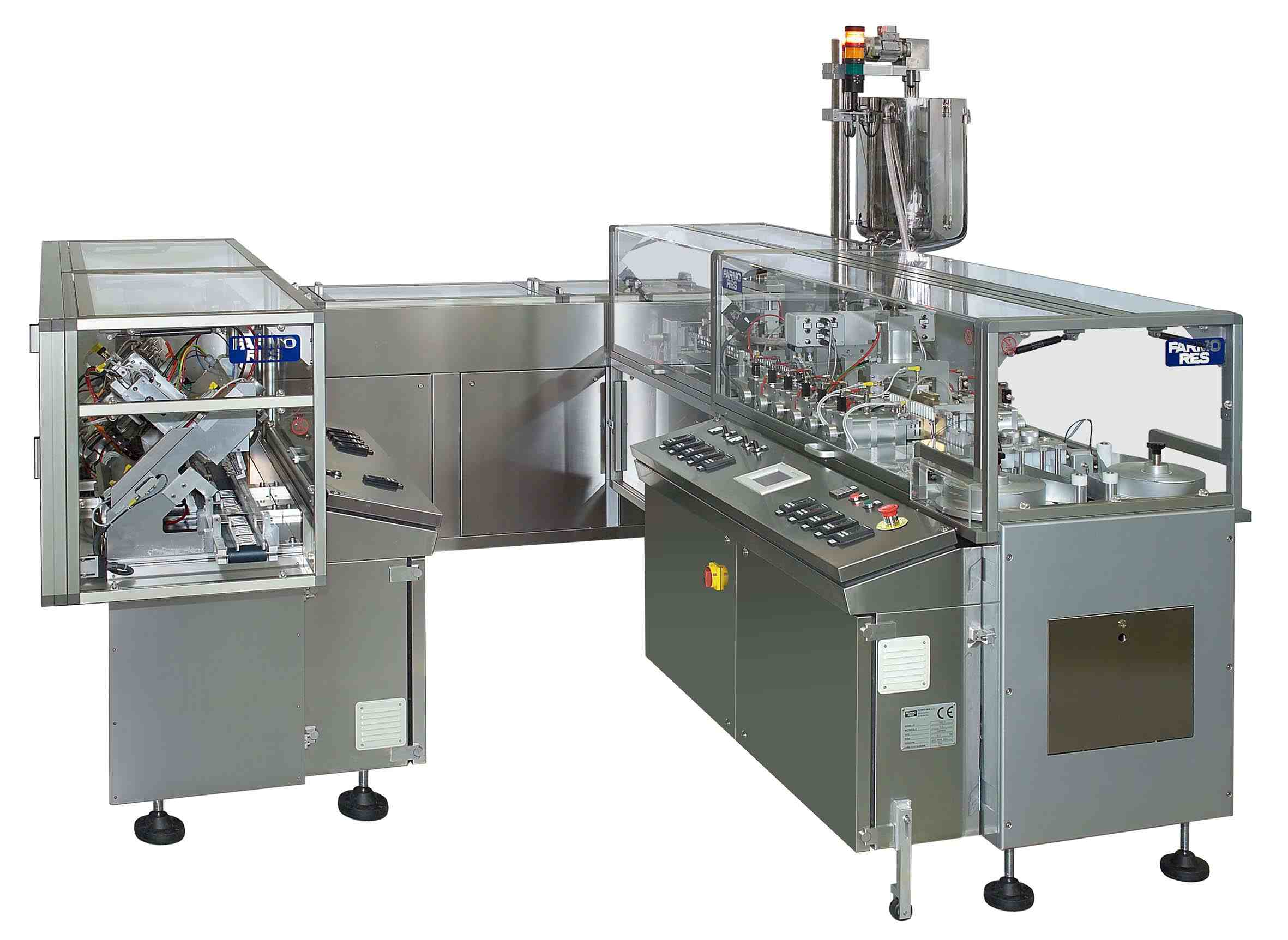 Suppository Filling Line Suppository Filling And Sealing