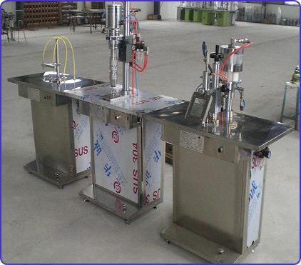 Perfume Filling Machine / Aerosol Can Filling Machine