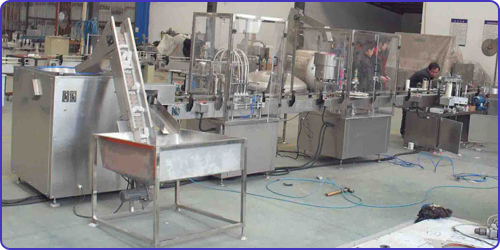 Liquid Filling machine with Capping Machine,fillers, cappers, monoblocks