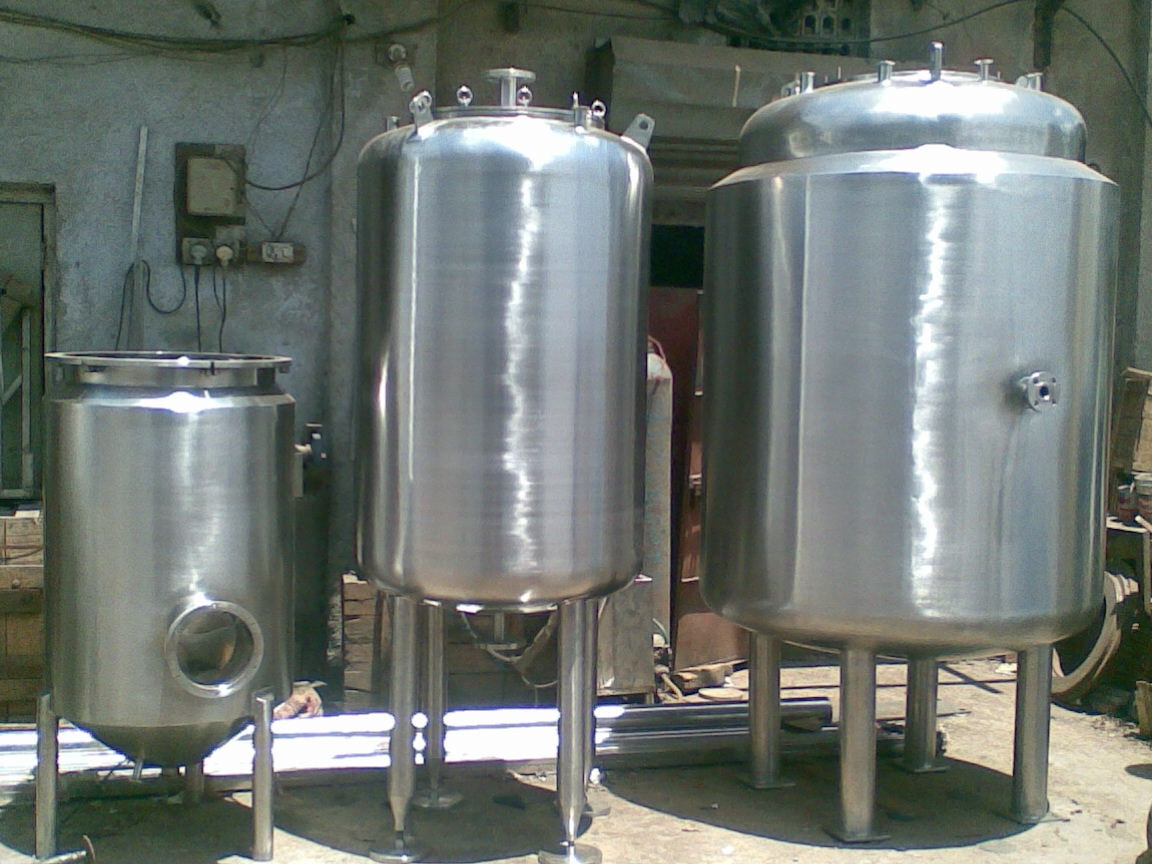Stainless Steel Jacketed Vessel Mixing Jacketed Vessel