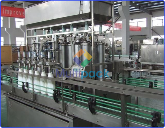 Liquid Soaps Filling Machine