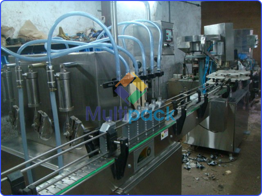 Motor Oil Filling Machine
