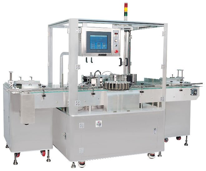 Vial Sticker Labeling Machine Vial Labeler Machine