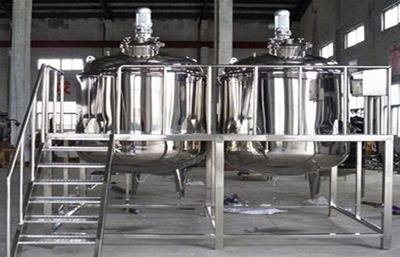 Cosmetic Mixing Machine Blending And Mixing Tank For