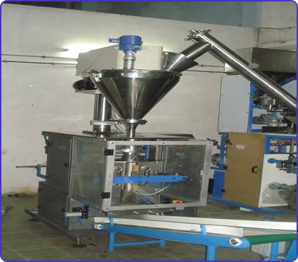 VFFS machine with servo auger filler,VFFS with telescopic cup filler machine