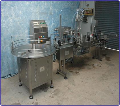 Viscous Liquid Filling Machine